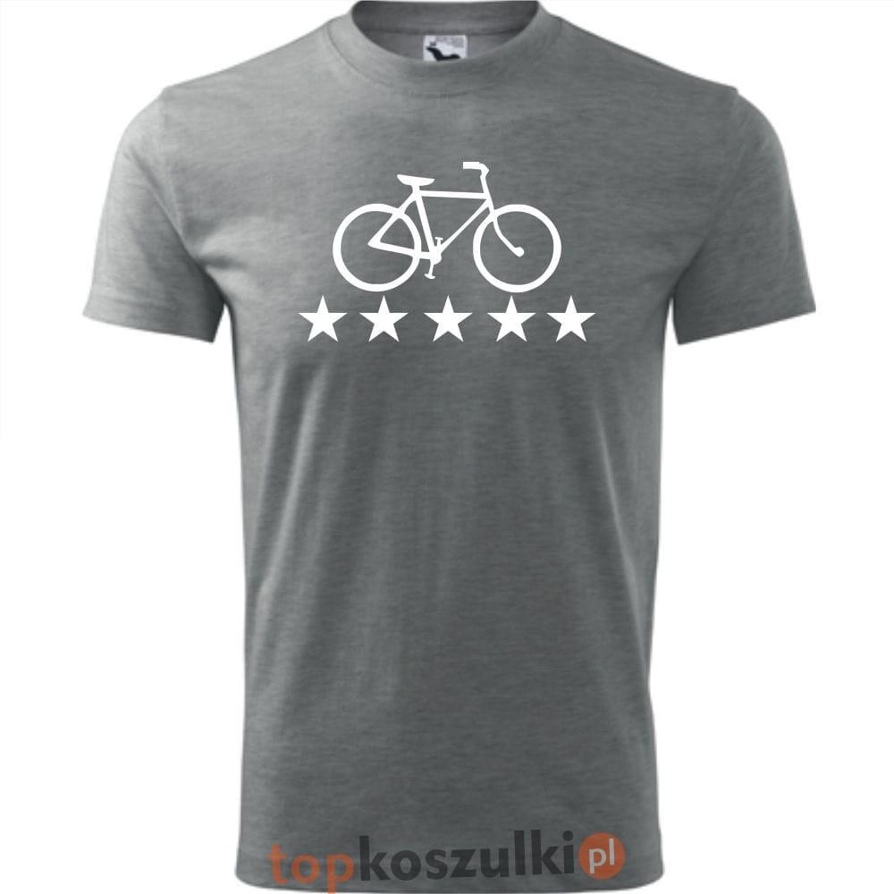 bc21fc337 Męska koszulka dla Rowerzysty - Rower 06 - super prezent TopKoszulki ...