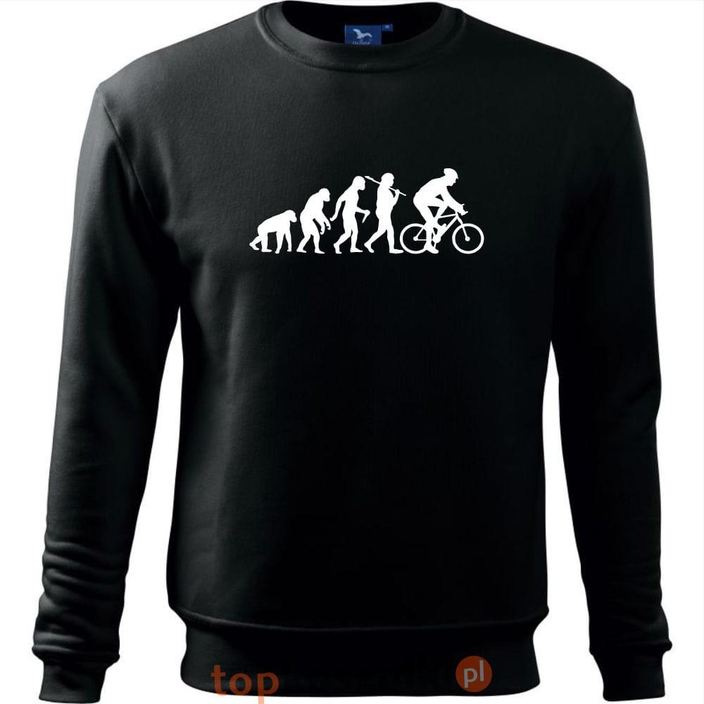 24ba053c1 Męska bluza dla Rowerzysty - Ewolucja rower - super prezent. 13.jpg