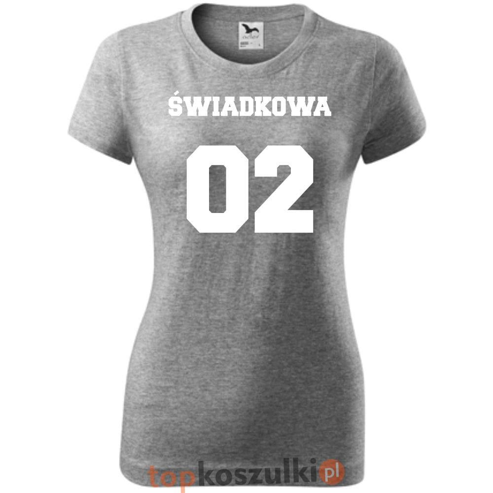 b3c91e013 Damska koszulka taliowana - Team młodej Świadkowa - super prezent na ...