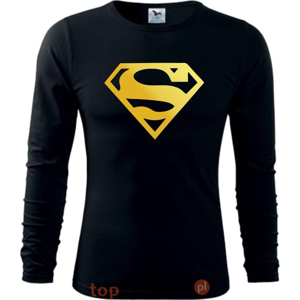 6908305e0 Męska koszulka z dł. rękawem - SUPER ZŁOTY, śmieszne koszulki, pomysł na  super prezent, okazja. 12.jpg