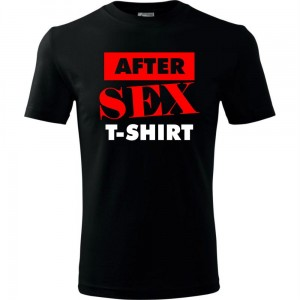 Męska koszulka - AFTER SEX T-SHIRT