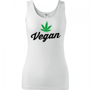 Damski tank top - VEGAN