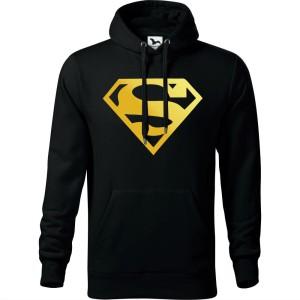 a248ff2bf Męska bluza z kapturem + zapakuj na prezent - SUPER ZŁOTY, śmieszne koszulki,  pomysł na super prezent, okazja