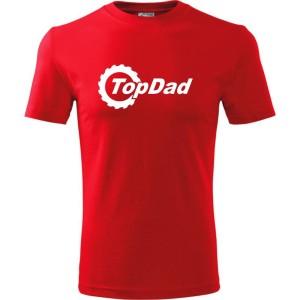 6ecd3c347ff1c2 Męska koszulka - Top dad 01, super prezent na dzień ojca, urodziny, święta