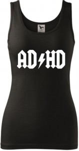 Damski tank top - AD HD, super prezent