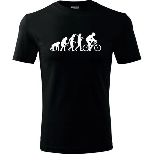 de55e0747 Męska koszulka dla Rowerzysty - Ewolucja rower - super prezent Top ...